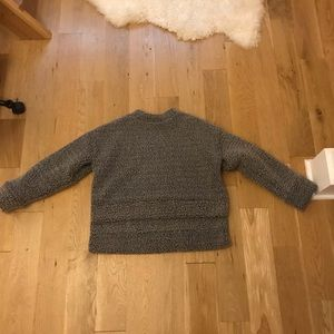 Priory Fuzzy Cropped Sweater